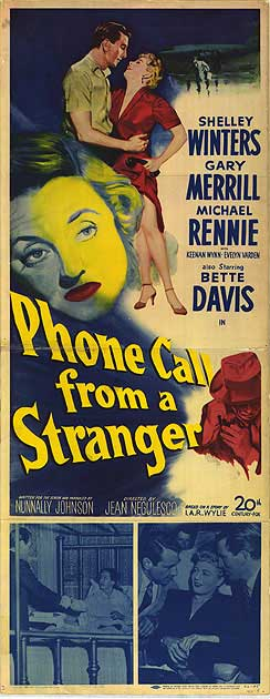 Phone Call from a Stranger, 1952, 2015 CMBA Fall Blogathon