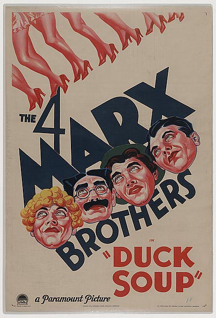 Duck Movie Posters Duck Soup Poster 1933