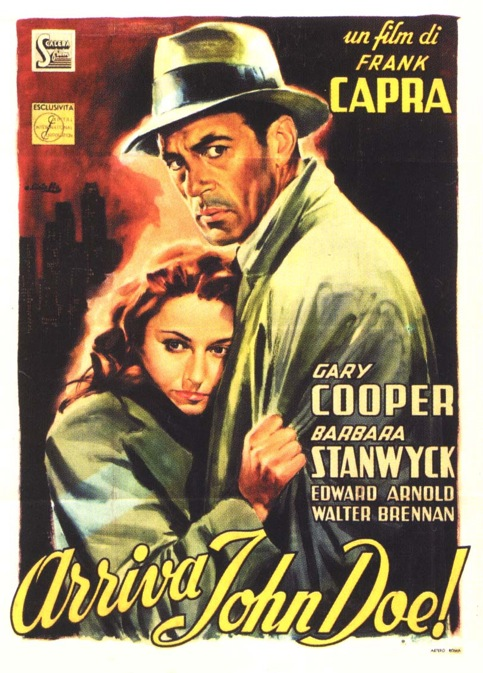 Meet John Doe, 1941, French, Arriva John Doe