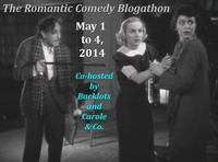 Romantic Comedy Blogathon, Backlots, Carole & Co.