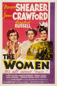 The Women 1939, Norma Shearer, Joan Crawford, Rosaline Russell, Virginia Weidler